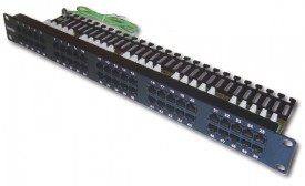 DINTEK Patch Panel Cat.3 Telephone 1U 50P 19inch (P/N: 1402-01003)