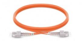Fiber patch cord Multi-mode, OM2, duplex, SC/SC, 3m (P/N: 2104-03021)