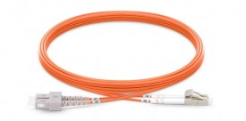 Fiber patch cord Multi-mode, OM2, duplex, LC/SC, 3m (P/N: 2104-15001)
