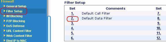 Router ADSL Draytek