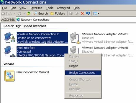 Bridge Connections