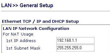 Cấu hình IP