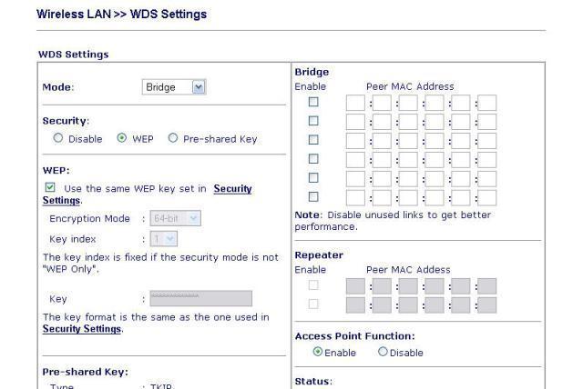 Cấu hình bảo mật WEP