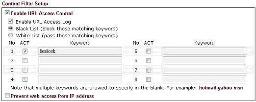 Keyword Object