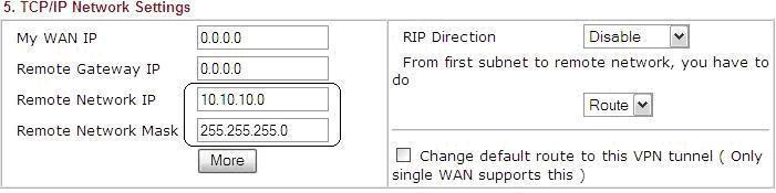 Route thứ 2 có thể truy cập VPN